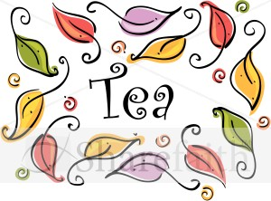Tea Leaves Clip Art