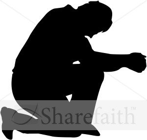 Humble Man in Prayer