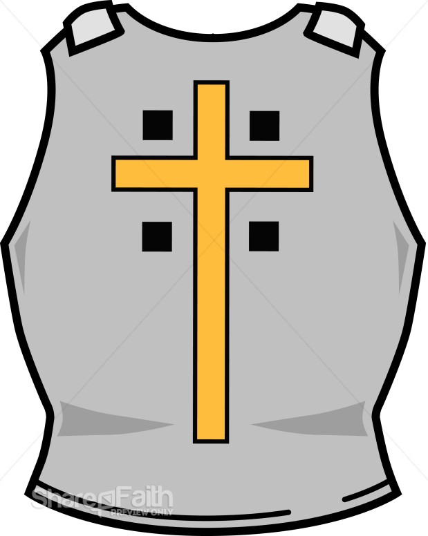 Breastplate of Righteousness with Cross | Spiritual Warfare