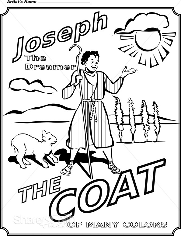 joseph king of dreams coloring pages   JOSEPH INTERPRETS DREAMS COLORING PAGES « Free Coloring Pages