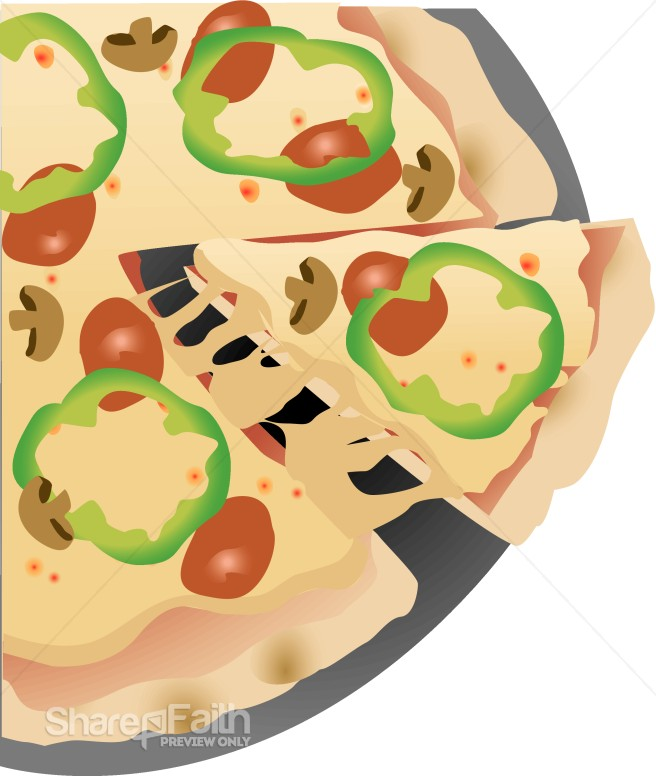 pizza slice clipart. Pizza Slice Clipart