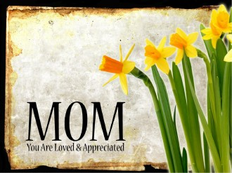 I love you Mom Mothers Day PowerPoint