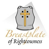 Stand firm then...with the breastplate of righteousness in place. - Ephesians 6:14