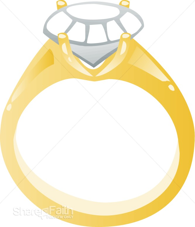 Wedding Rings Clipart Daisys