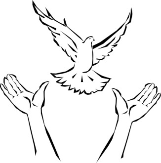 Hands Releasing Dove