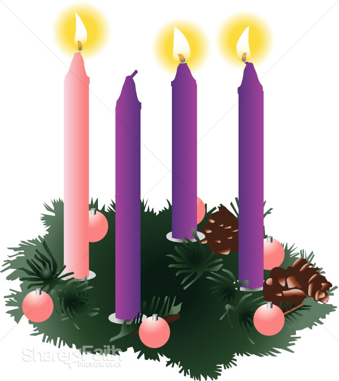 Advent Christmas Clipart