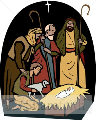 The Wise Men Visit the Manger