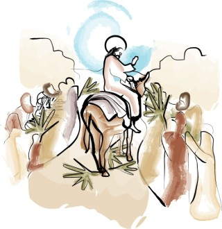 Jesus Enters Jerusalem