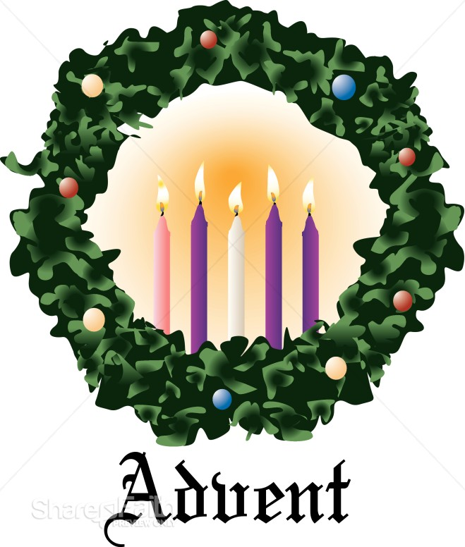Christmas Clipart Christian Wreath