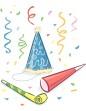 shrove tuesday party confetti